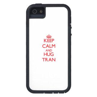 Keep calm and Hug Tran iPhone 5 Covers