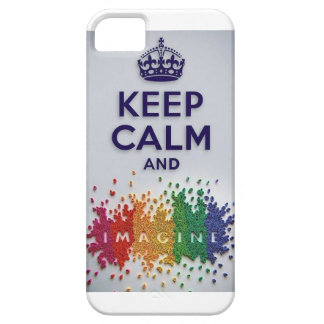 Keep Calm and Imagine IPhone Case Barely There iPhone 5 Case