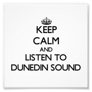 Keep calm and listen to DUNEDIN SOUND Photo Print