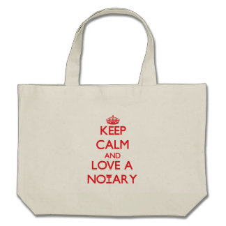 Keep Calm and Love a Notary Bag