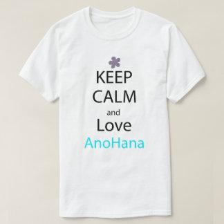 Keep Calm And Love Anohana Anime Manga Shirt