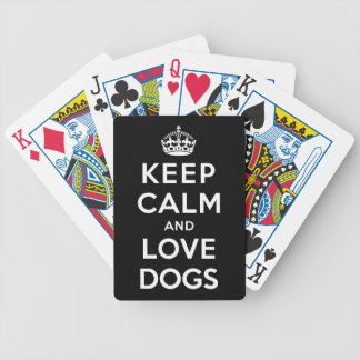 Keep Calm and Love Dogs Card Deck