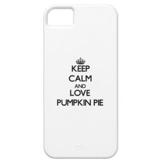 Keep calm and love Pumpkin Pie iPhone 5 Cases