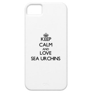 Keep calm and Love Sea Urchins iPhone 5 Case