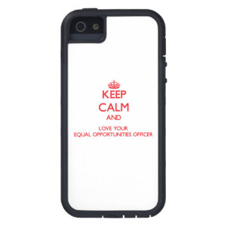Keep Calm and Love your Equal Opportunities Office iPhone 5 Covers