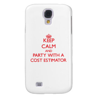 Keep Calm and Party With a Cost Estimator Galaxy S4 Covers