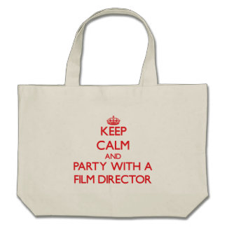 Keep Calm and Party With a Film Director Bag