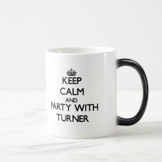 Keep calm and Party with Turner Morphing Mug