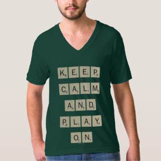 Keep Calm And Play On - tiles T-Shirt