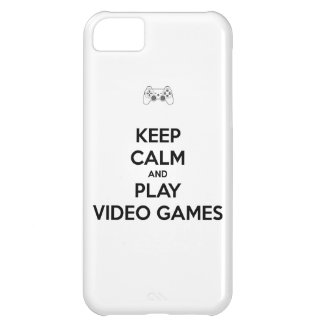 Keep Calm and Play Video Games iPhone 5C Case