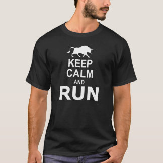 KEEP CALM and RUN T-Shirt