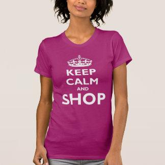 Keep Calm and Shop T-shirts