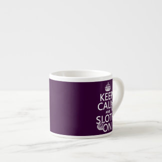 Keep Calm and Sloth On Espresso Cup