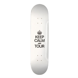 KEEP CALM AND TOUCH 21.6 CM OLD SCHOOL SKATEBOARD DECK
