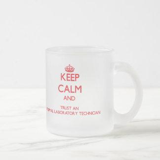 Keep Calm and Trust an Animal Laboratory Technicia Coffee Mug