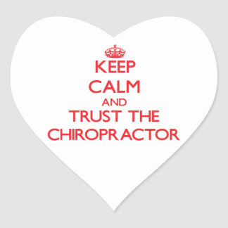 Keep Calm and Trust the Chiropractor Stickers