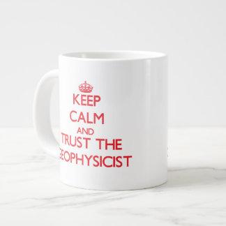 Keep Calm and Trust the Geophysicist Large Coffee Mug
