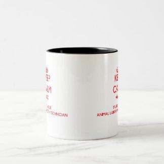Keep Calm and Trust Your Animal Laboratory Technic Mug