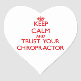 Keep Calm and Trust Your Chiropractor Sticker
