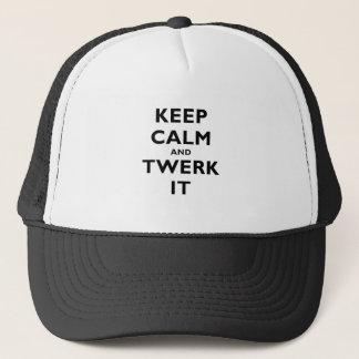 Keep Calm and Twerk It Trucker Hat