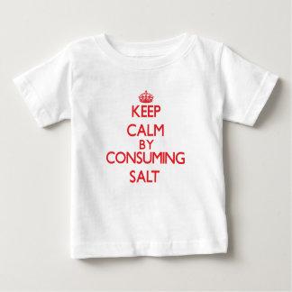 Keep calm by consuming Salt Shirt