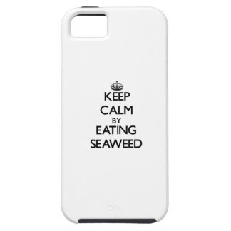 Keep calm by eating Seaweed iPhone 5 Cases