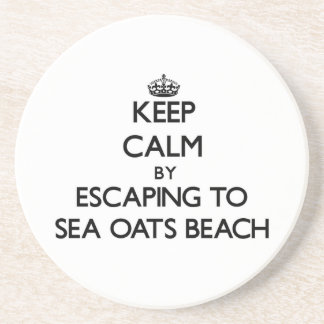 Keep calm by escaping to Sea Oats Beach Florida Coasters