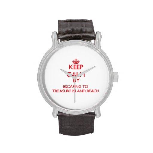 Keep calm by escaping to Treasure Island Beach Flo Watch