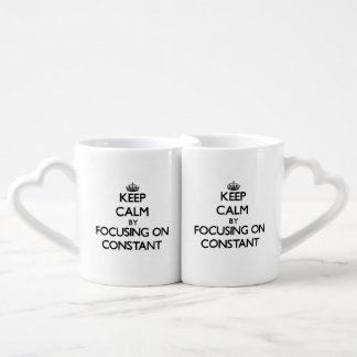 Keep Calm by focusing on Constant Lovers Mug