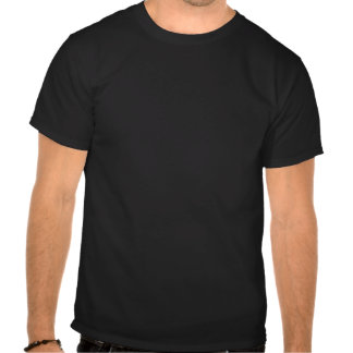 Keep Calm by focusing on Pitch Black T-shirts