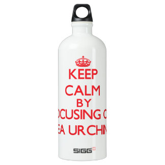 Keep calm by focusing on Sea Urchins SIGG Traveller 1.0L Water Bottle