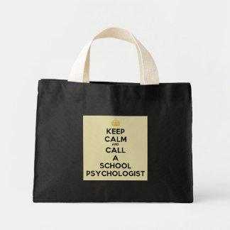 Keep Calm & Call a School Psychologist Tote