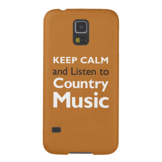 Keep Calm Country Case For Galaxy S5
