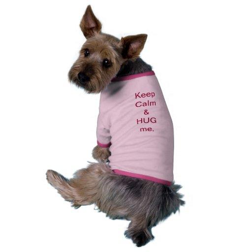 Keep Calm Dog Clothing