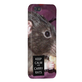 keep calm Dumbo rat iPhone 5 case