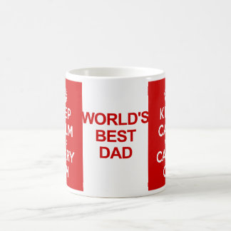 Keep Calm Father's Day Coffee Mug