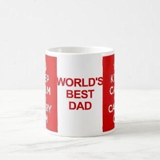 Keep Calm Father's Day Mugs