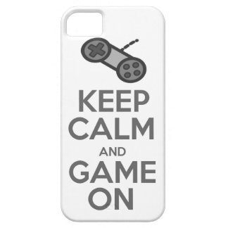 Keep Calm & Game On iPhone 5 Covers