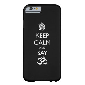 keep calm ganesh barely there iPhone 6 case