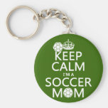 Keep Calm I'm a Soccer Mum (in any colour)