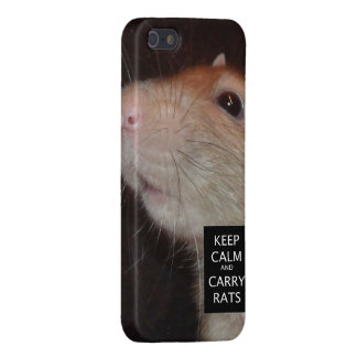 keep calm rat iPhone 5 case