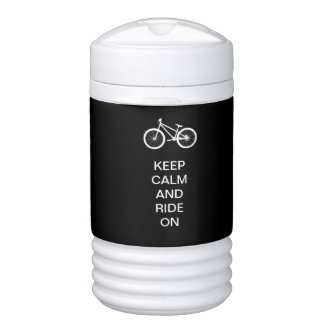 Keep Calm Ride On Cooler