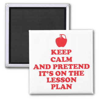 Keep Calm Teachers Magnet