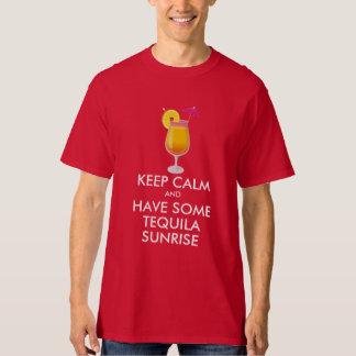 Keep Calm - Tequila Sunrise T-shirt