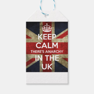 Keep Calm There's Anarchy In the UK Gift Tags