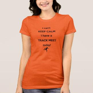 Keep Calm Track Meet Shirt! Discus Throw Shirt