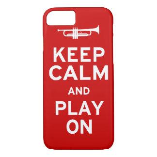 Keep Calm Trumpet iPhone 8/7 Case