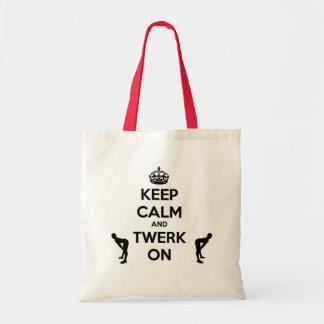 Keep Calm & Twerk On Tote Bag