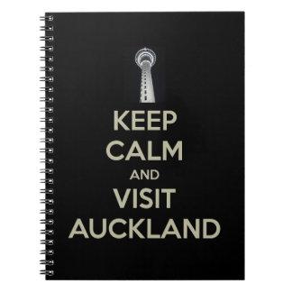 keep calm visit auckland notebooks
