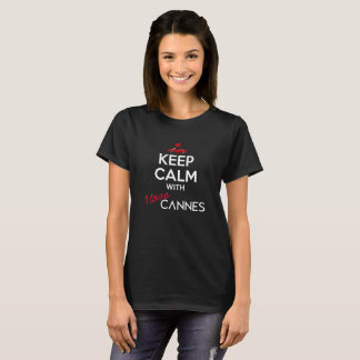 Keep Calm with I Love Cannes version 2 (Women) T-Shirt